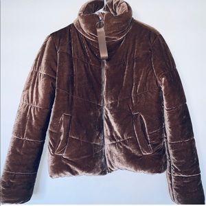 Jackets & Blazers - Copper velvet jacket